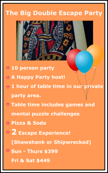 escape room birthday party_big double escape birthday party package at TeamEscape 262