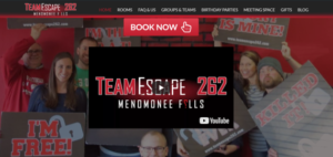 TeamEscape 262 releases new website