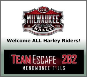 TeamEscape 262 welcomes Harley Rally 2018!