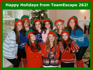 TeamEscape 262 offers Black Friday Special