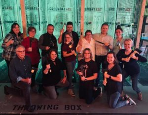 Axe Throwing and Team Building at TeamEscape 262 & Falls Axe