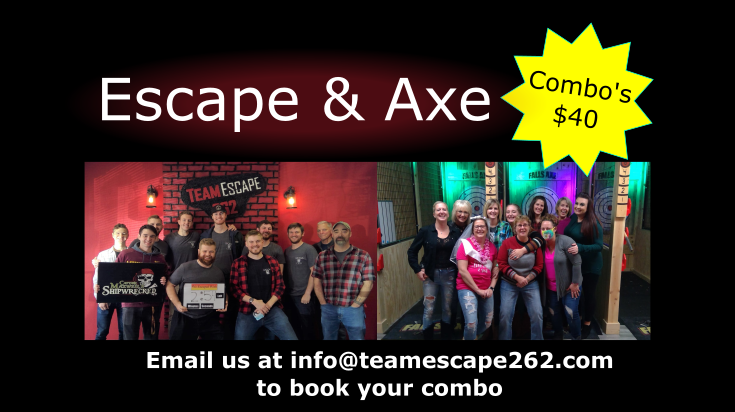 escape and axe combos just $40