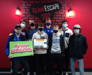 Concordia University visits TeamEscape 262 and Axe for Team Building